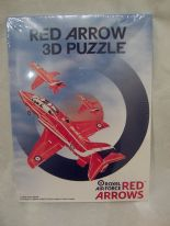 3D Red Arrows Foam Puzzle Plane